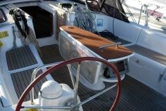 Open air deck of Beneteau Oceanis 40