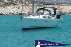 The yacht of your chartered sailing holidays in the Greek Islands