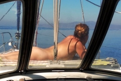 naturist sailing greek islands