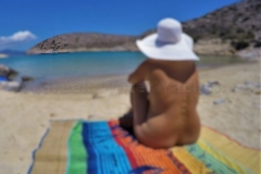 naturist sailing greek islands