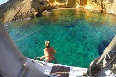 Naturist cruise around the Greek Cyclades Islands