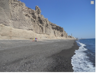 nudist beaches in the Cyclades